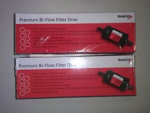 Lot Of 2 New Liquid Line Premium Filter Drier Dbf 163s 3 8 Od Sweat Diversitech