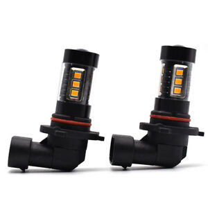 2pc 3500k 80w High Power 9145 H10 9005 Yellow Led Fog Light For Ford F 150 99 18