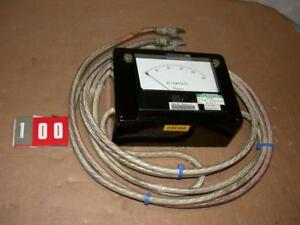 Simpson Panel Meter 0 150a Dc Amperes With Leads Free S h
