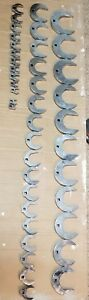 Snap On 3 8 Dr Large Sae Open End Crowsfoot 41pc Set 7 16 3 Crow Crows Foot