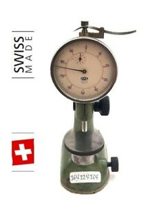 Tesa Compac Pag Grenchen Swiss Gauge Holder Test Indicator Indicator Stand 6