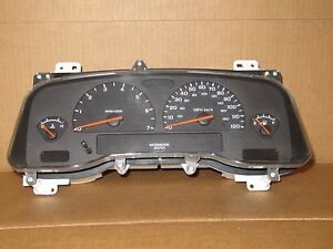 2003 03 Dodge Dakota Truck 4 Gauge Speedometer Cluster 64k