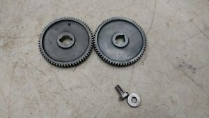 Lot Of 2 Vintage Craftsman 6 Metal Lathe M64 64t 64 Tooth Change Gear