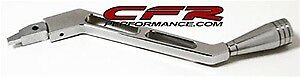 1973 94 Chevy Gm Billet Aluminum Column Shifter Arm Chrome Automatic Polished