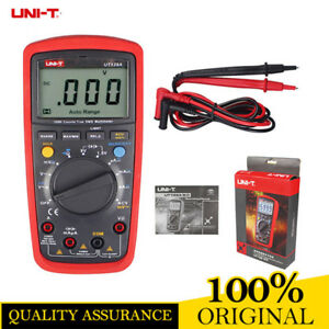 Uni t Ut139a True Rms Portable Digital Multimeter Cat Iii Safety Rating Meter