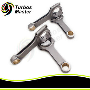 Steel Connecting Rods For Ford Cosworth Yb Sierra Escort 128 55mm Conrod 800hp
