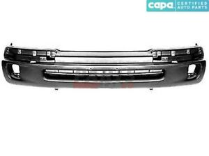 New Front Bumper Cover Textured Black Fits 1998 00 Toyota Tacoma 5391104090 Capa