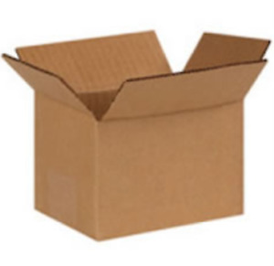 Wholesale 6x4x4 Cardboard Corrugated Boxes 8 000 Boxes 2 Pallets Free Shipping