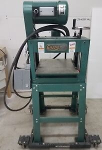 Grizzly 13 Planner moulder With Mobile Base dimensions 32 X 26 X 53 Tall