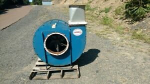 Cornell Material Handling Sawdust Blower 42 Dust Collector 20 Hp