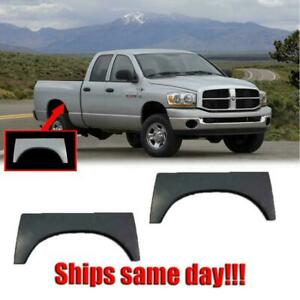 Wheel Arch Upper Rear Quarter Panel 2002 09 Dodge Ram 1500 2500 Pair Rust Repair
