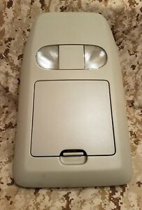 2004 2008 Ford F 150 F150 Overhead Console Storage Compartment Grey Oem