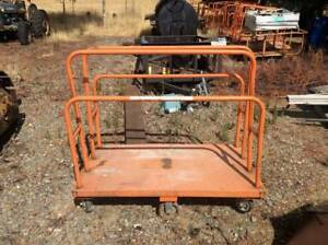 Industrial Cart 54 X 30 6 Wheeled Lumber Carts