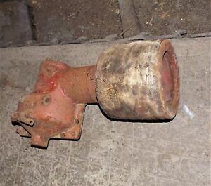 Vintage Farmall H Flat Belt Gearcase And Pulley Attachment In out Lever