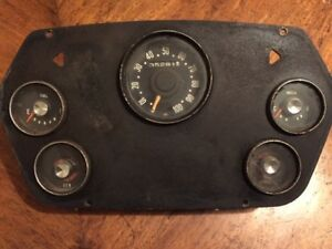 1959 1960 Dodge Truck Power Wagon Panel Truck Gauge Cluster Rat Rod