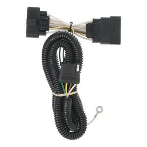 Curt Manufacturing 56172 Trailer Connector Kit custom Wiring Harness