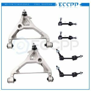2003 2005 For Ford Expedition 6pcs Rear Sway Bars Front Lower Control Arms Kit