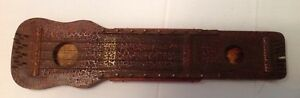 Ukelin Zither Antique Musical Instrument By Hawaiian Art Violin Crazed Finish