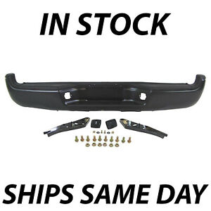 New Primered Complete Rear Steel Step Bumper For 2005 2015 Toyota Tacoma 05 15