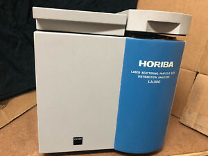 Horiba La 300 Portable La 300 Particle Size Analyzer No Flow Cell