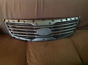 Grille For 2013 Kia Sportage Gray Plastic Replacement Insert 20 Off Final Offer