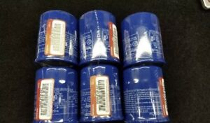Set Of 6 Honda Oil Filter 15400 Plm A02 Now 15400 Rta 003 Oil Filters