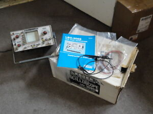 Leader Lbo 308s Dual Trace Oscilloscope W manuel Used For Parts project