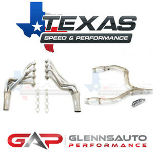 Texas Speed tsp 98 02 F body 1 3 4 Long Tube Headers W Catted Y pipe