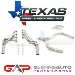 Texas Speed tsp 98 02 F body 1 7 8 Long Tube Headers W Off road Y pipe