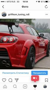 Rx 8 Autentic Autocraft A C E Wide Body Kit Fenders