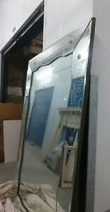 Large Vintage Venetian Style Etched Mirror 60x40 Wall Dresser San Diego Ca Area