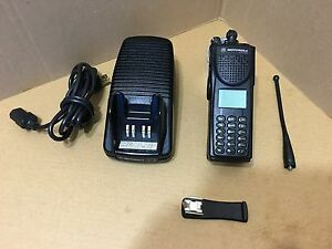 Ems Motorola Xts3000 Iii P25 Digital 800mhz Radio W Programming Security Police