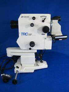 Topcon Trc 50f Retinal Camera Opthalmology And Optometry Pa 50c Made In Japan