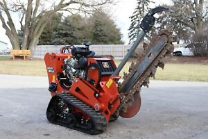Ditch Witch C30x Trencher With 48 Boom 4 25 Trenching no Taxes