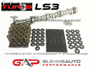 Tick Performance Turbo Stage 2 Cam Kit W Titanium Retainers For Ls3