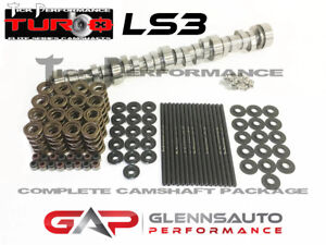 Tick Performance Turbo Stage 3 Cam Kit W Titanium Retainers For Ls3