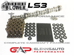 Tick Performance Blower Stage 2 Cam Kit W Titanium Retainers For Ls3