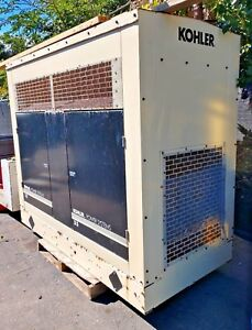 Kohler 38 kw Power Generator Propane Model 35rzg 60hz Rpm 1800 Runs Good