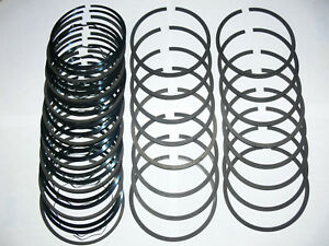 1966 To 1967 Chrysler Dodge Plymouth 440 Cu In Engine Standard Piston Rings