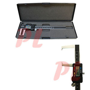 6 150mm Outside Groove Digital Caliper Outer Vernier Measurement Ruler Scale