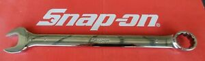 Snap On Tools 1 Standard Length 12 Point Combination Wrench Oex32b Ships Free