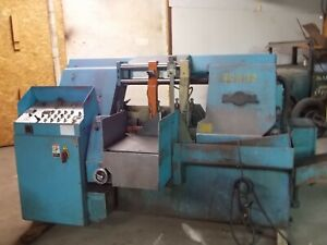 Doall C 4100a Automatic Bandsaw 16 Round Cap