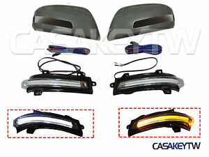 2012 2015 Honda Civic Hybrid Sedan Mirror Unpaint Cover With Led Indicator Drl