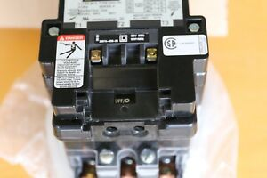 Square D 120 Amp Contactor 3 Phase 600 Volt 120 Volt Coil New Old Stock