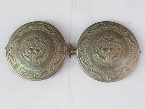 Rare Antique Ottoman Hand Hammered Silver Belt Buckle Early 19th Low Price
