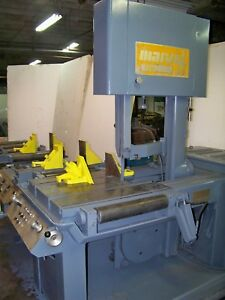 Marvel 81a9 Vertical Automatic Band Saw Bandsaw Mitering 45 Deg Left