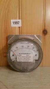 Dwyer Magnehelic Gauge 0 0 50 Inches Of Water 2000 0 C 15 Psig 0 5