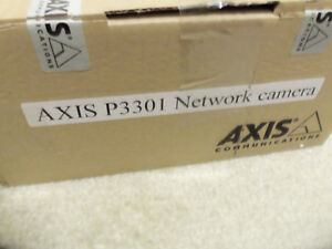 Axis P3301 Fixed Dome Poe Ip Network Security Surveillance Cam Camera