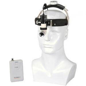 Dental Medical Surgical Headlight Headband Binocular 5w Led Kd 202a 6 Lamp Usa