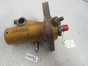 Pump 2a 1682 V Vintage Antique Rd6 Part Construction Tractor For Caterpillar